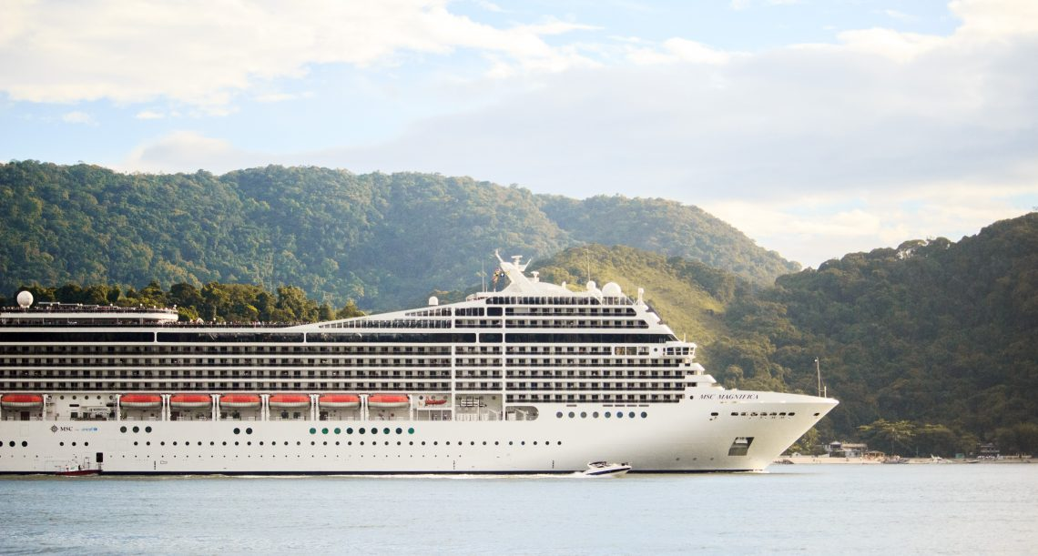 photo of a cruise ship