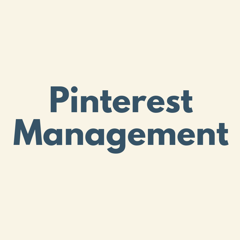 pinterest management revised