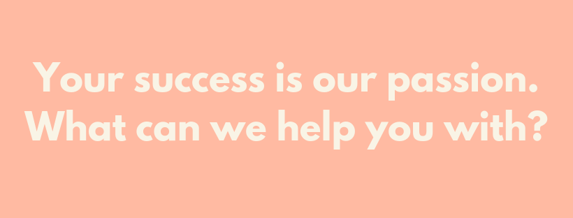your success is our passion