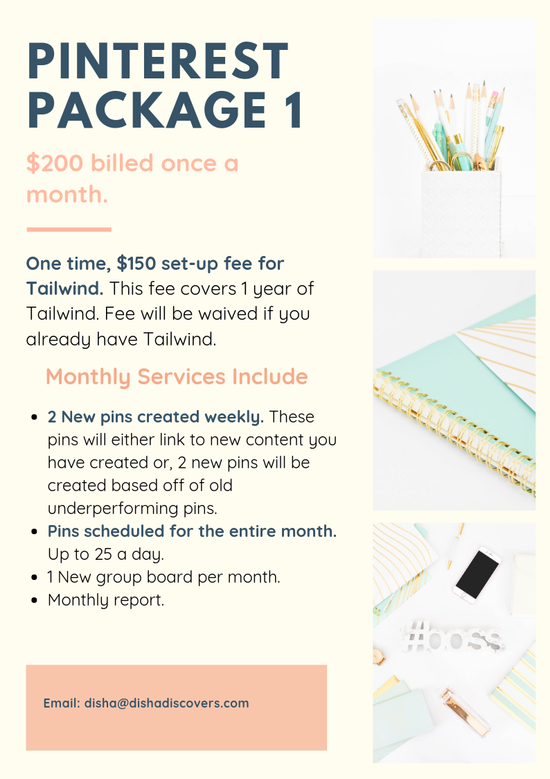 Pinterest Package 1 Revised