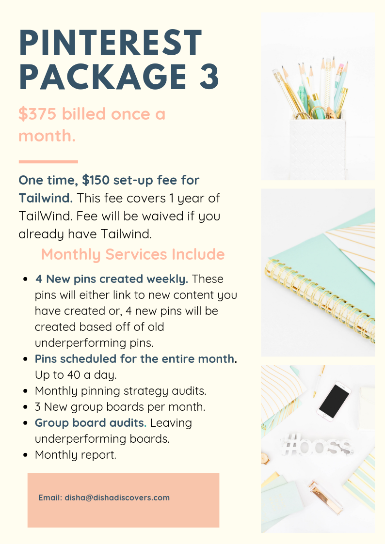 Pinterest Package Three REVISED