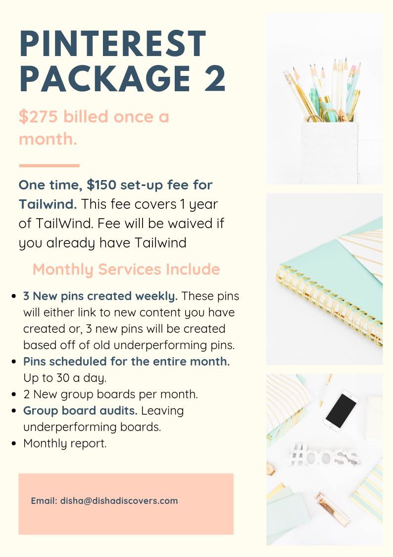 Pinterest Package Two