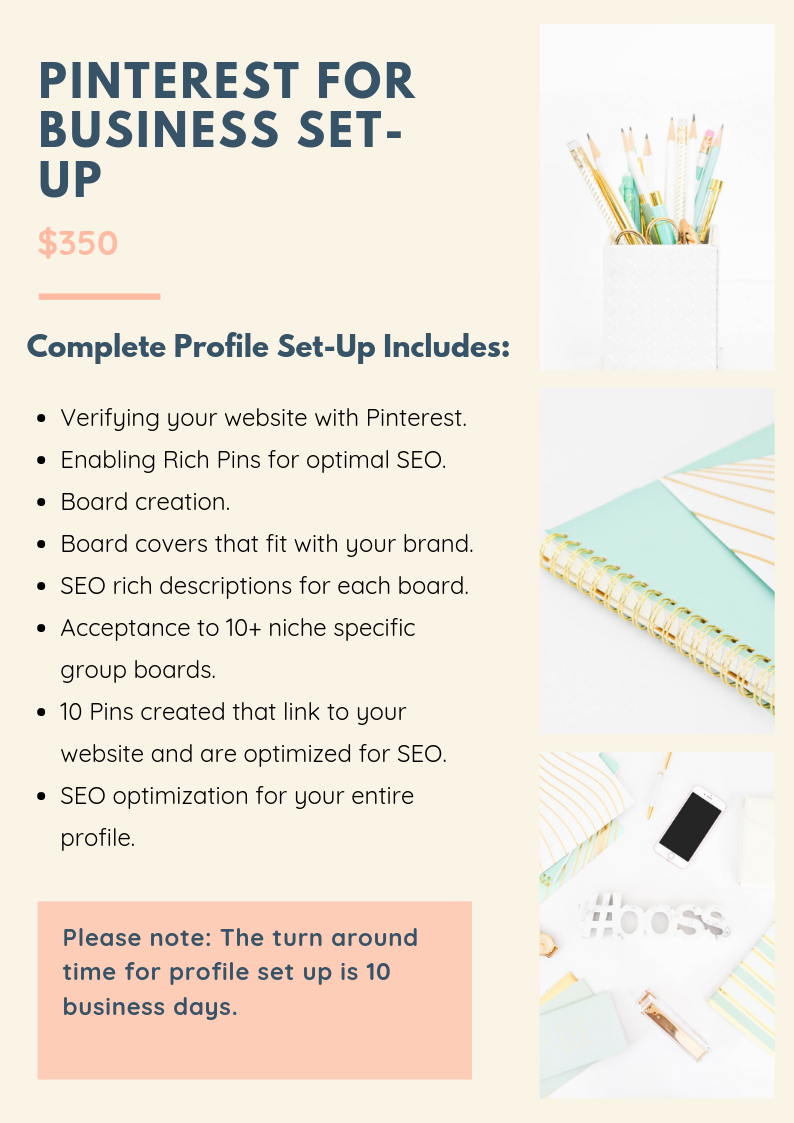 Pinterest for Business Setup Revised