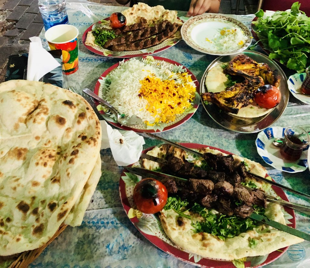 a delicious meal we had in kuwait city