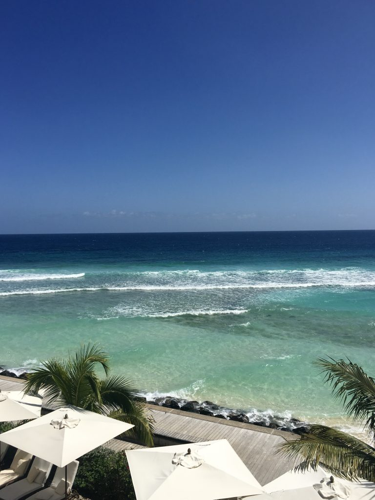 A photo of the beach in Barbados.