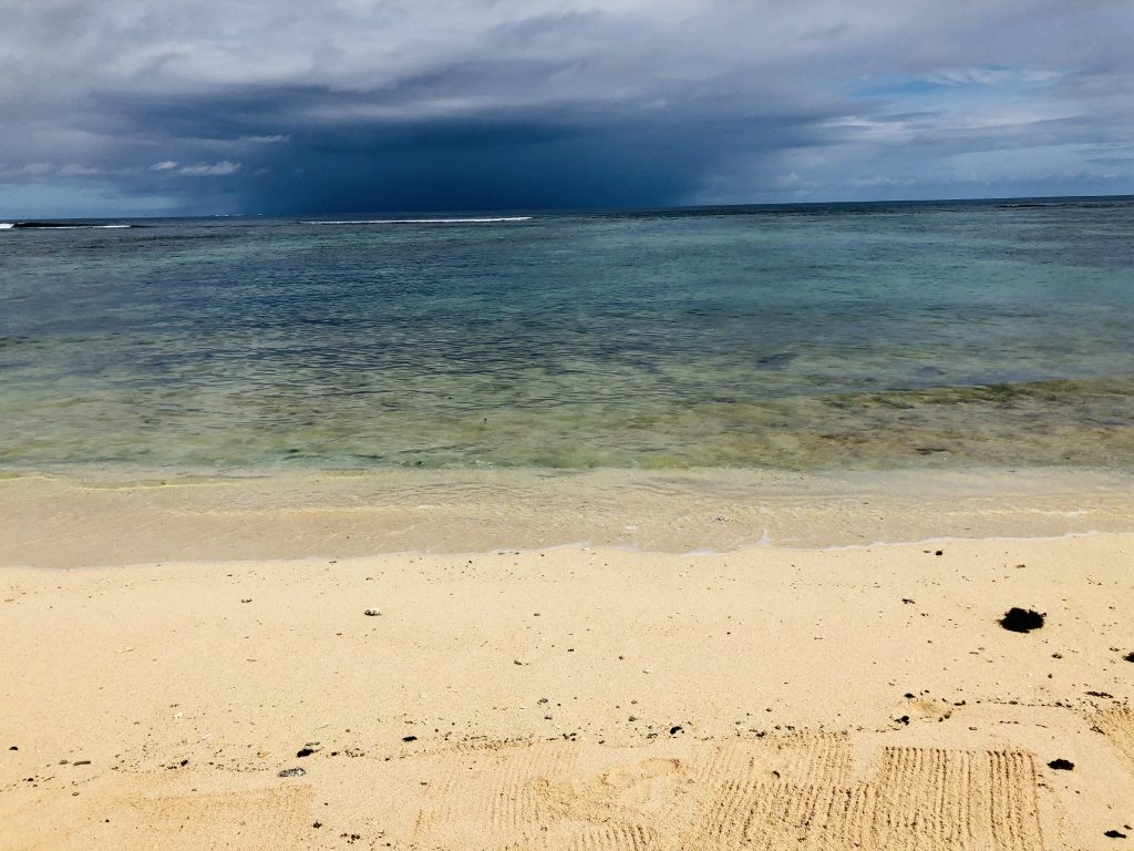 A photo of the beach in Nuku'alofa.