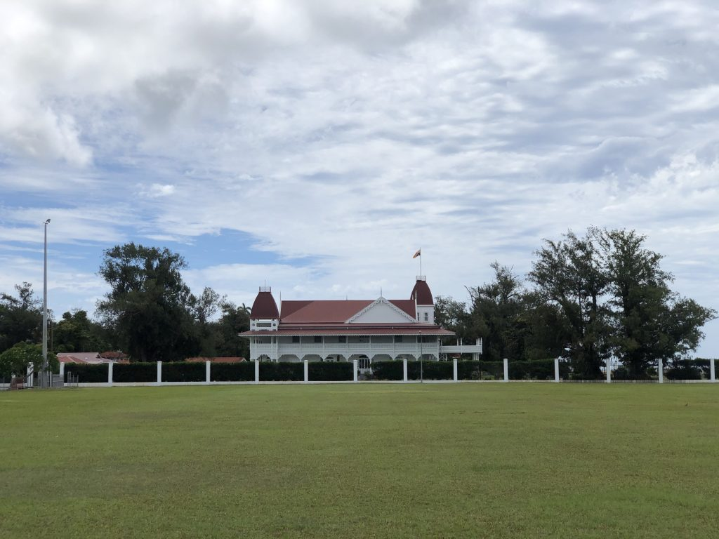 A photo of the Royal Palace in Nuku'alofa