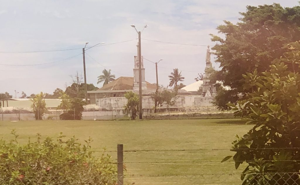 A photo of the Royal Tombs in Nuku'alofa