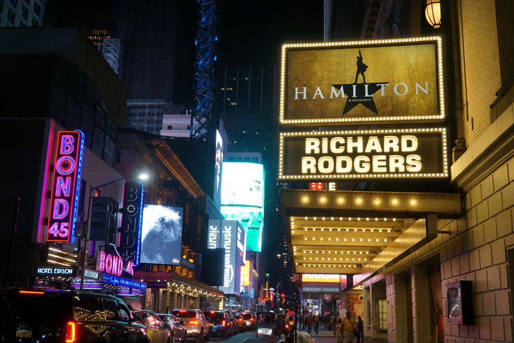 Broadway is a must on your three-day itinerary for New York City