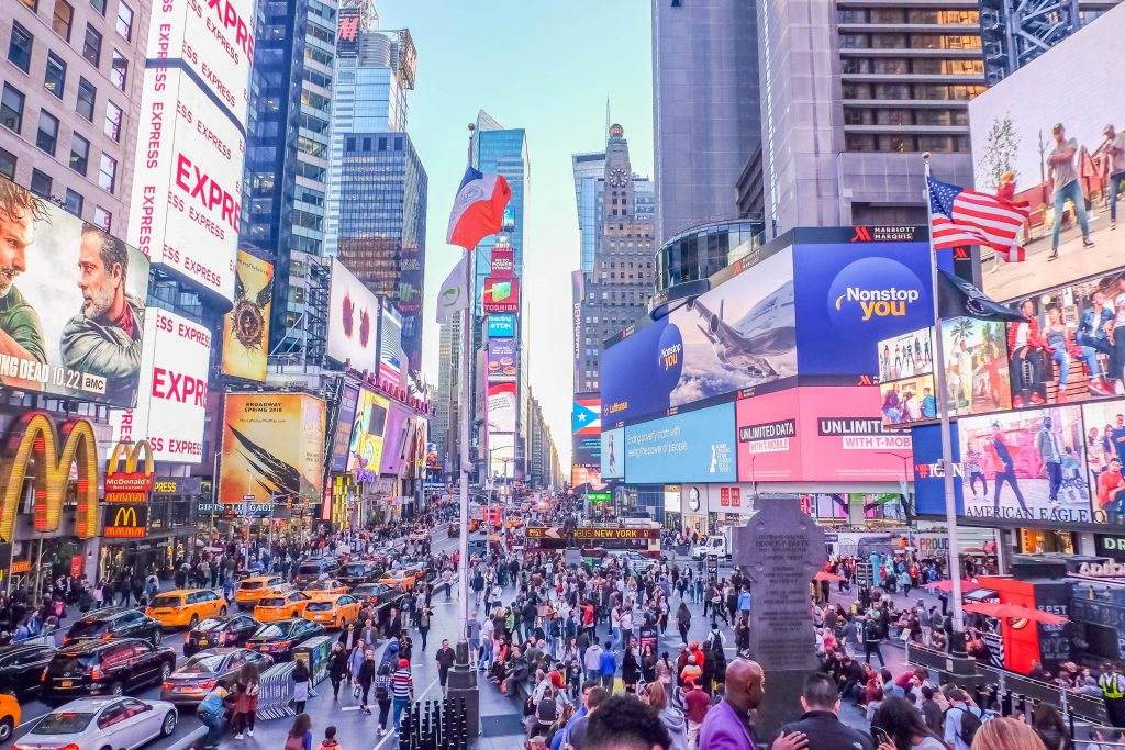Times Square is something you have to put on your three-day itinerary for New York City