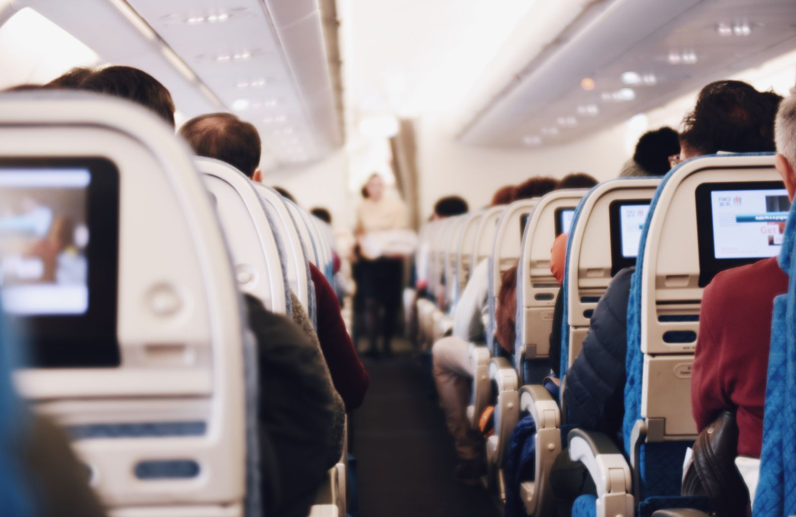 Choose your seat carefully to avoid getting sick when you fly.