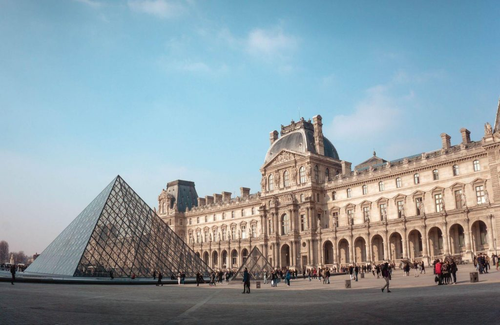 Do home travel and visit the Louvre in Paris.