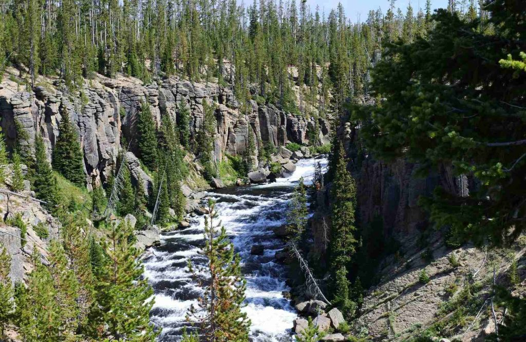 You can tour national parks through home travel.