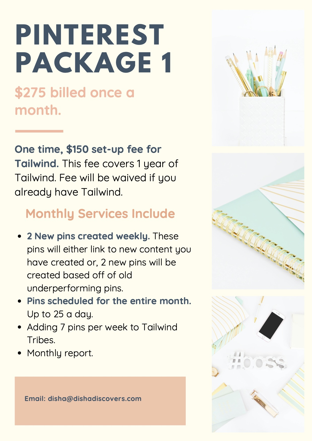 Pinterest Package 1