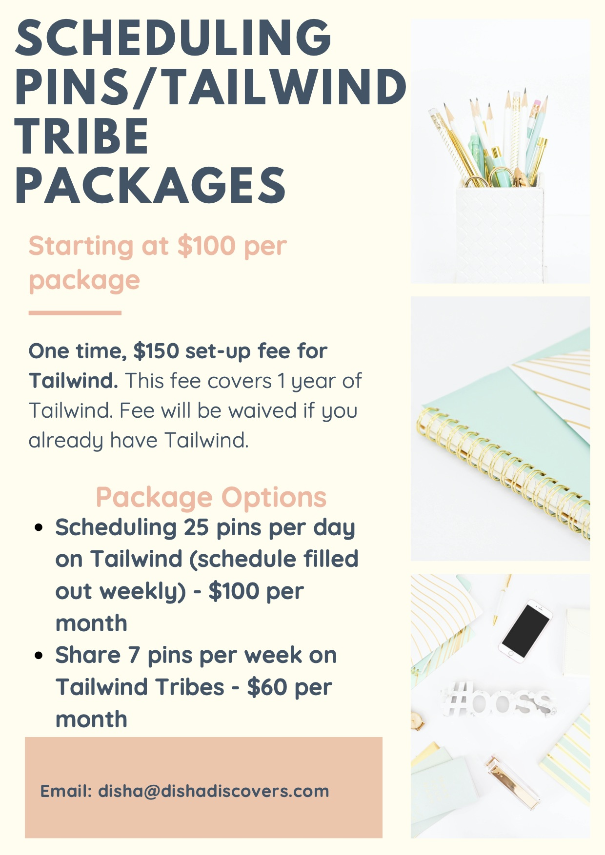 Scheduling Pins Package