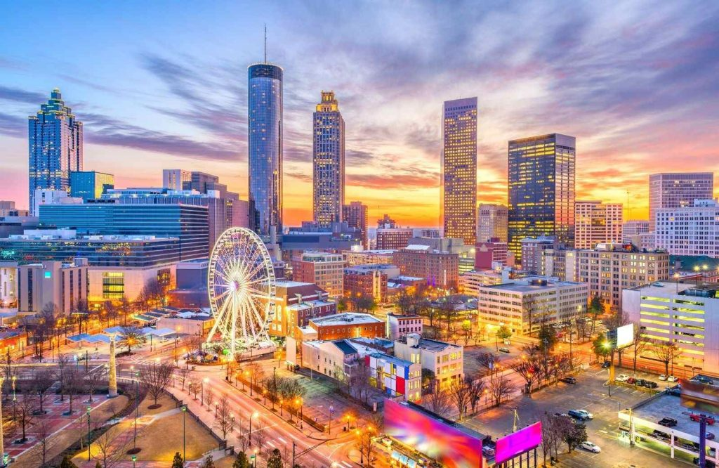 Atlanta is one of several incredible USA weekend getaways.