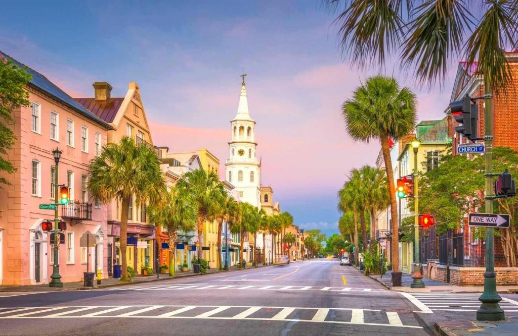 One of the best USA weekend getaways is Charleston, South Carolina.