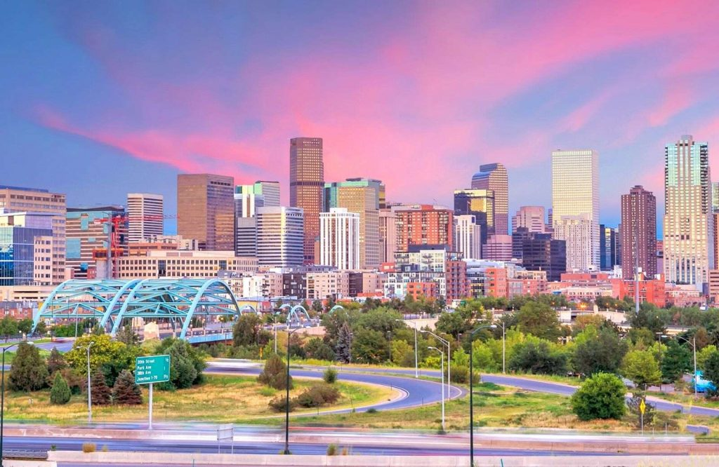 Denver is one of several adventurous USA weekend trips.