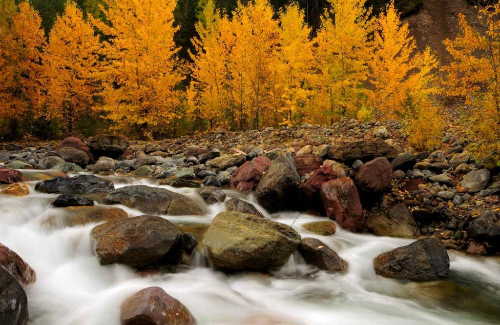 Looking for the best USA fall trips? Visit Glacier National Park.