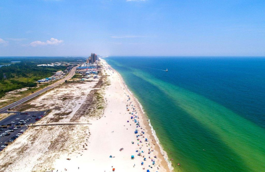 Gulf Shores is a relaxing USA weekend trip.