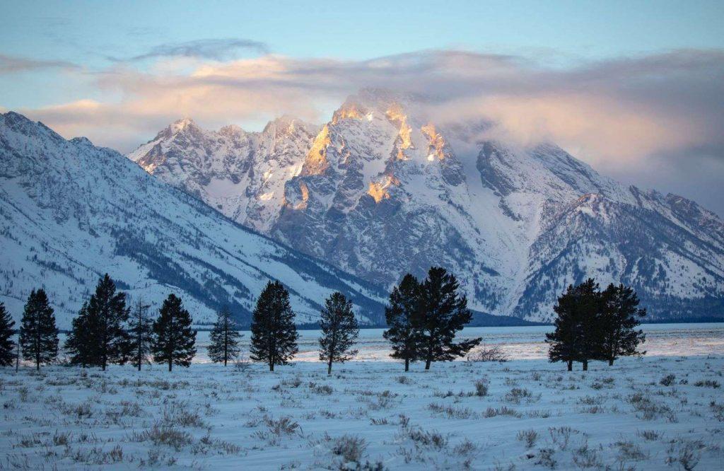 Jackson Hole, Wyoming makes for the perfect USA Christmas destination.