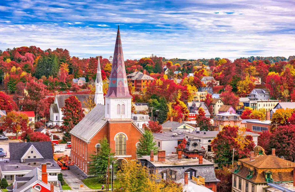 If you're looking for the best USA fall trips, be sure to visit Montpelier.