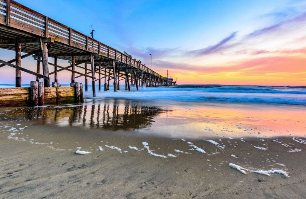 One of the best tropical USA Christmas destinations is Newport Beach.