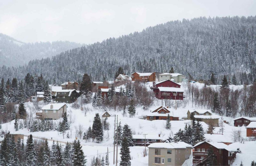If you're looking for a pretty USA Christmas destination, visit Park City, Utah.