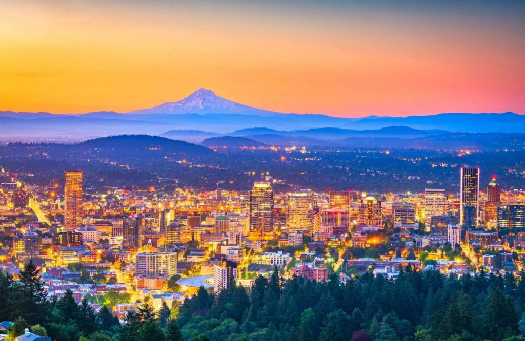 One of the spunkiest USA weekend trips is Portland, Oregon.