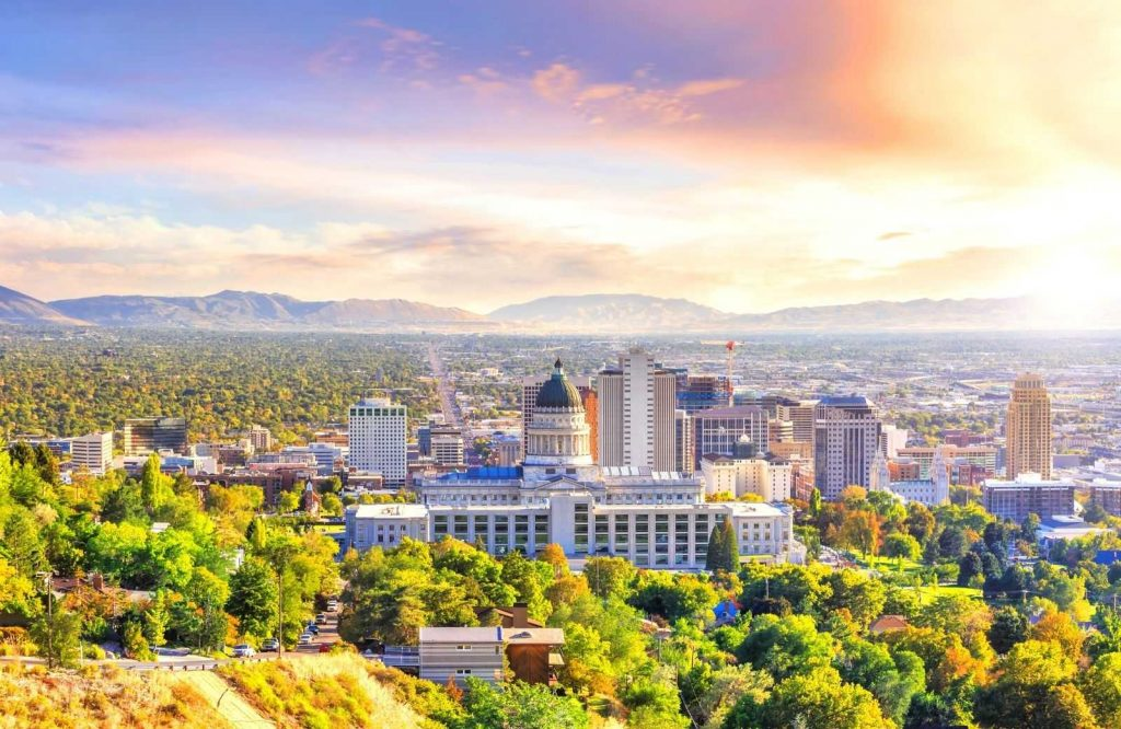 One of the coolest USA weekend getaways is Salt Lake City.