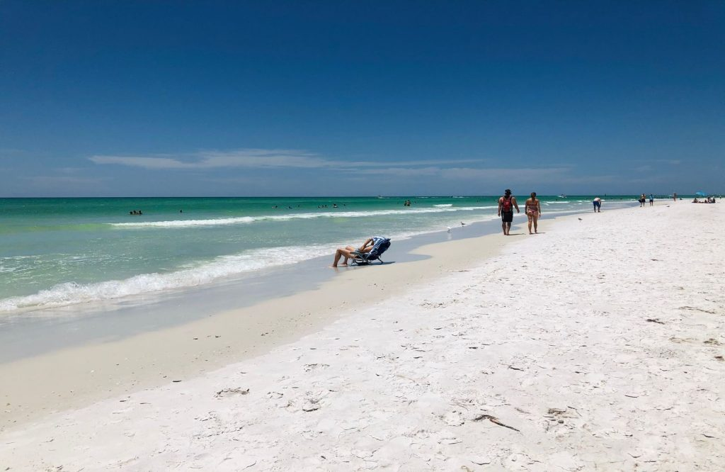 Siesta Key is one of the most relaxing USA weekend getaways.