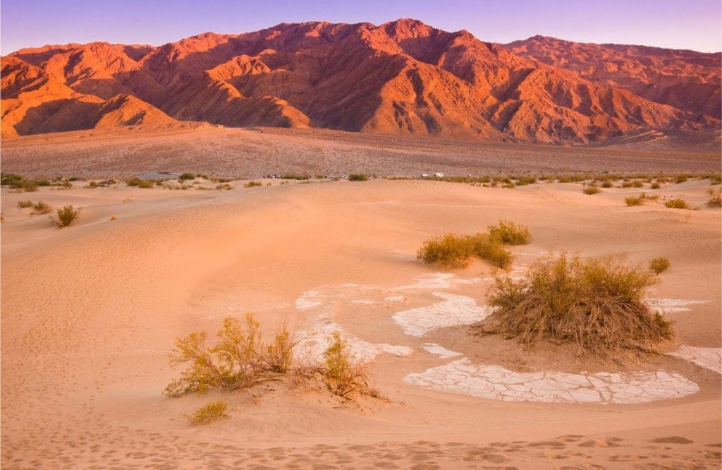 One of the best winter trips in the U.S. is Death Valley.