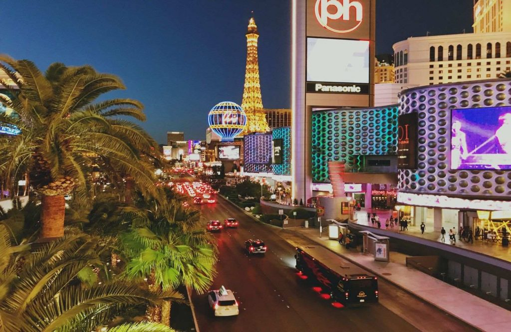 Las Vegas is one of the best winter getaways in the U.S.