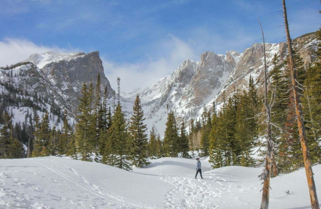 Rocky Mountain National Park is one of the most perfect and best winter trips in the U.S.