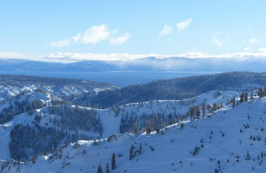 One of the best winter trips in the U.S. is Lake Tahoe.