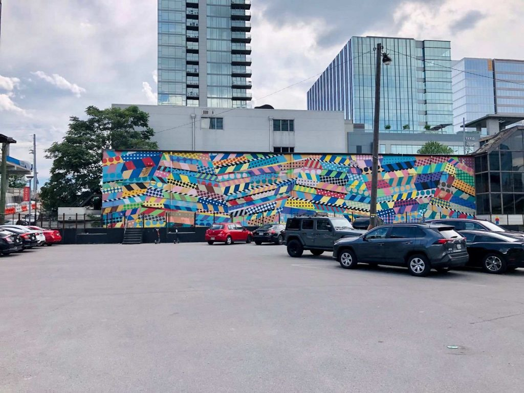 A weekend trip to Nashville isn't complete without visiting several of the beautiful murals.