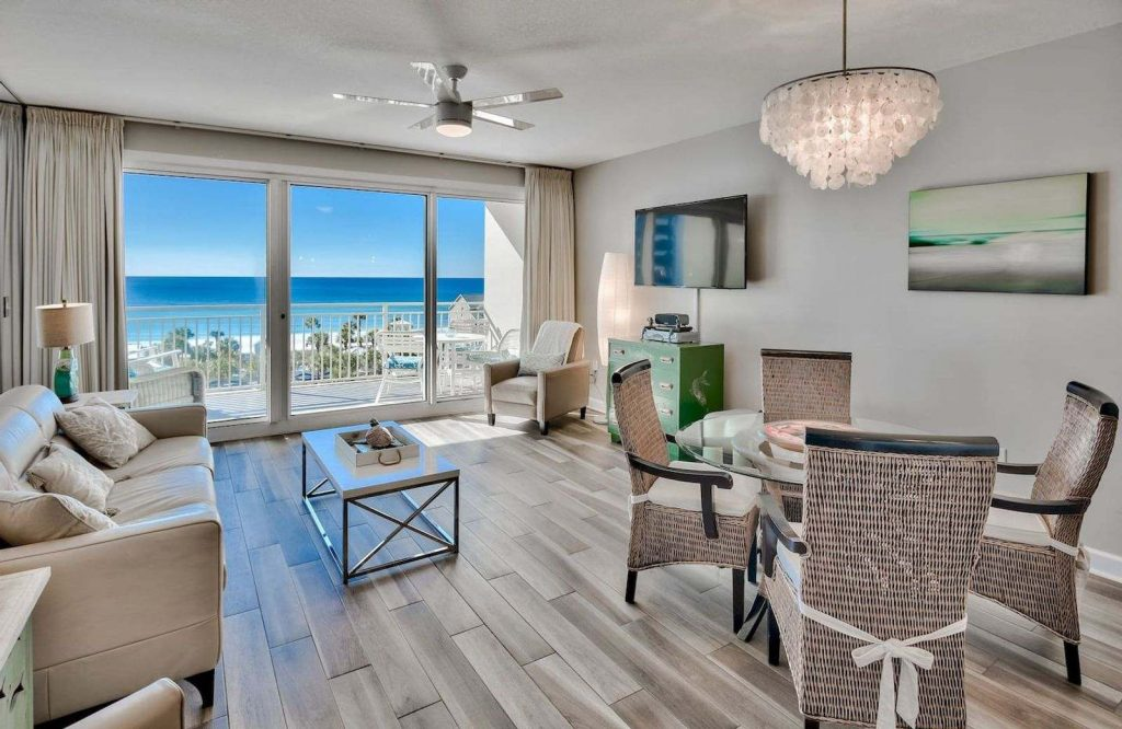 Ocean Paradise is one of the best Airbnbs in Destin, Florida.