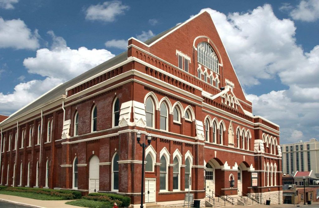 Don't forget to visit the Ryman Auditorium during your weekend trip to Nashville.