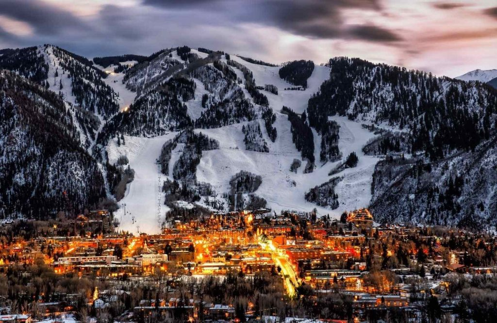 Aspen is one of the best winter getaways in Colorado.
