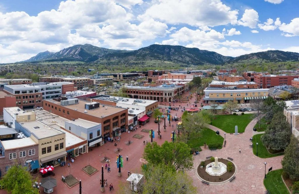 If you're on the search for the best winter towns in Colorado, Boulder is the place to go.