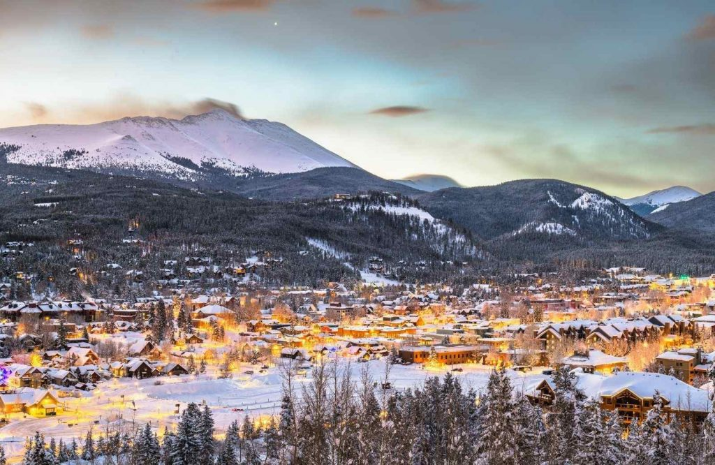 Breckenridge is one of the best winter towns in Colorado.