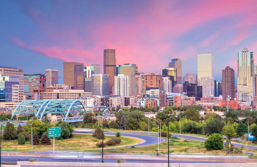 One of the best winter towns in Colorado is Denver.