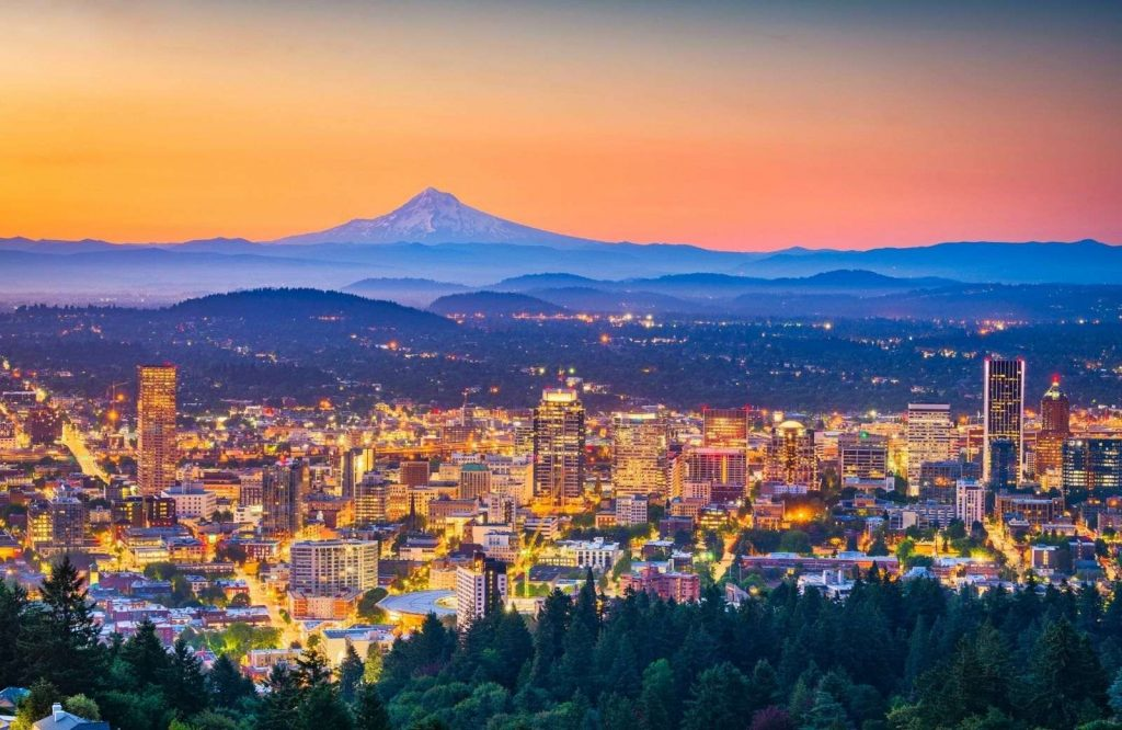 Portland is charming and one of the most unique places to visit in Oregon.