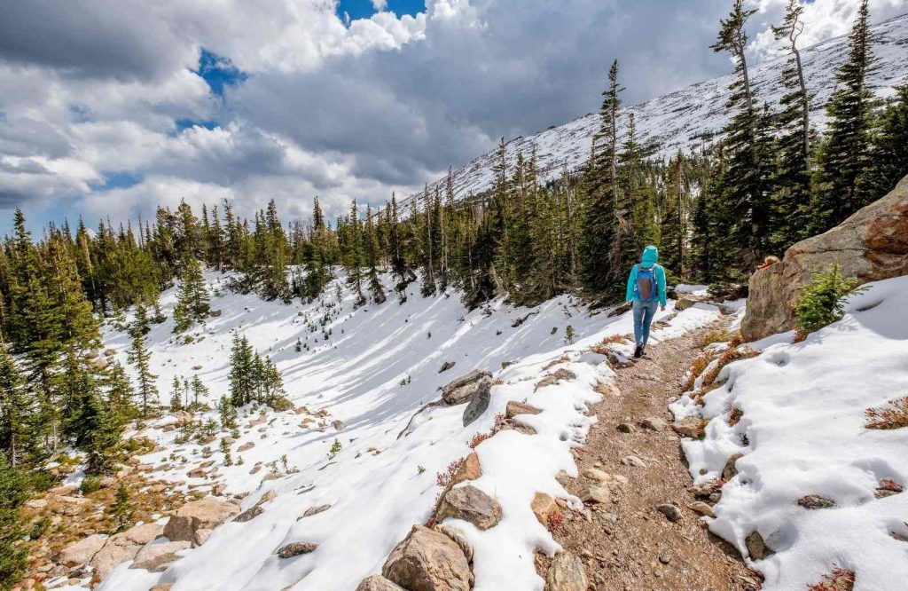 Looking for the best winter getaways in Colorado? Try Rocky Mountain National Park!