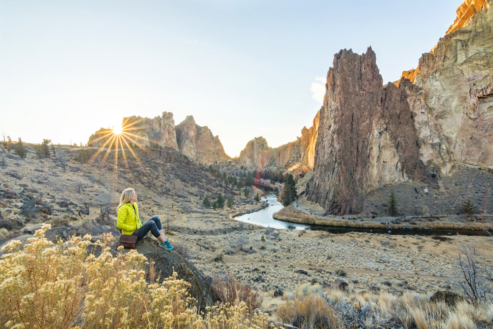 Smith Rock State Park is one of the best and unique places to visit in Oregon.