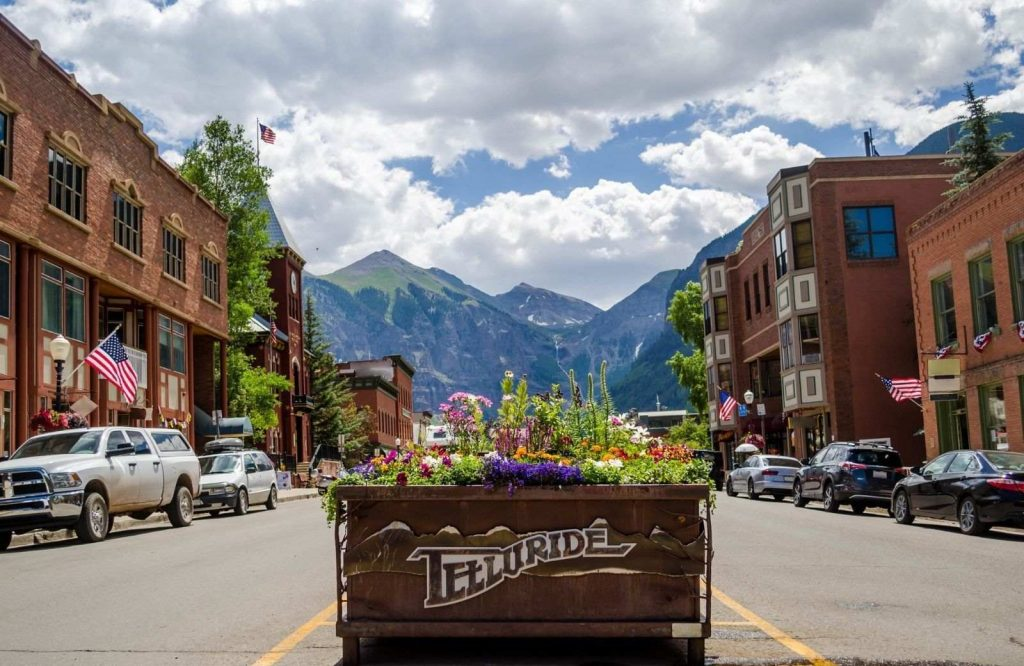 If you're looking for the best winter getaways in Colorado, Telluride is worth a visit.