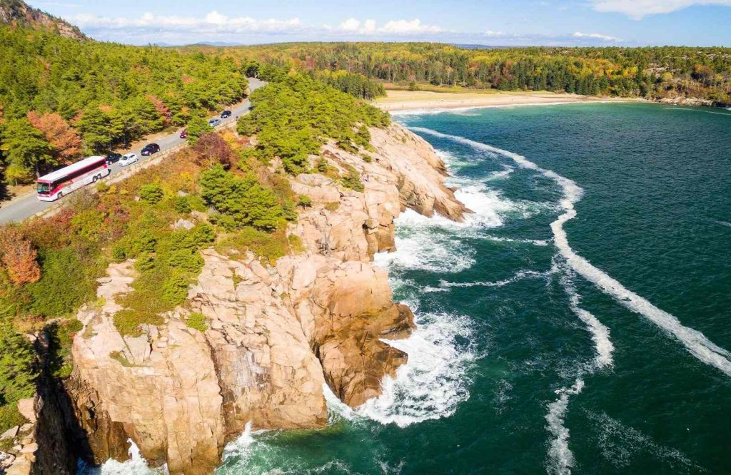 One of the best getaways on the East Coast is Acadia National Park.