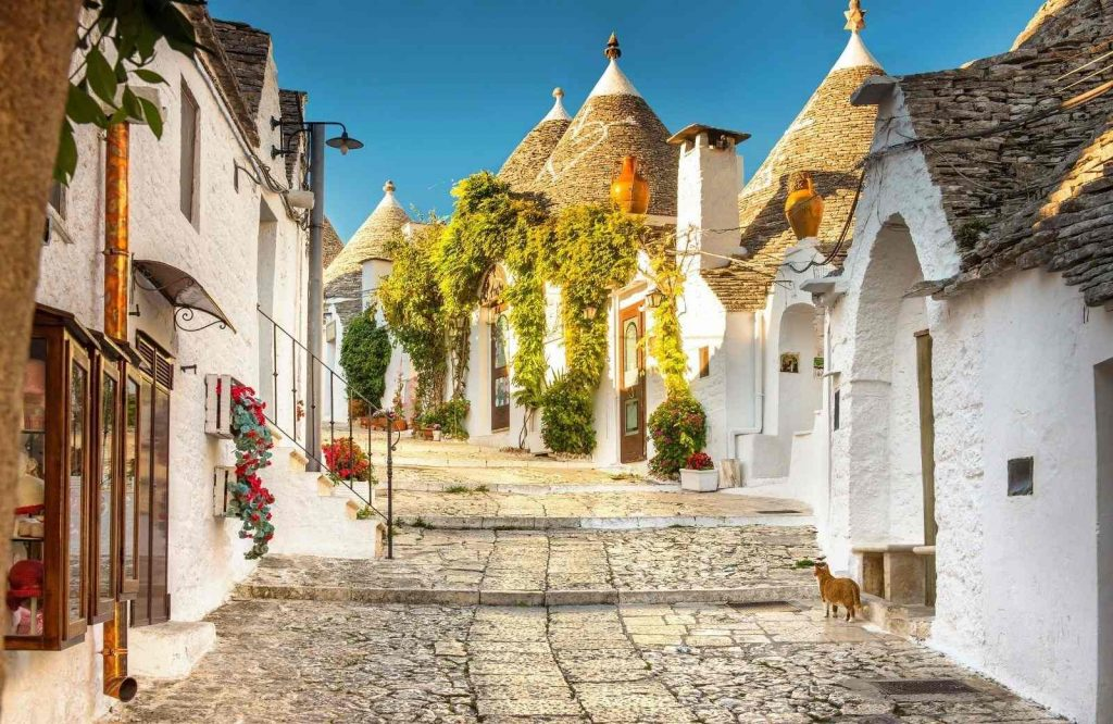 Alberobello is one of the prettiest cities in Italy.