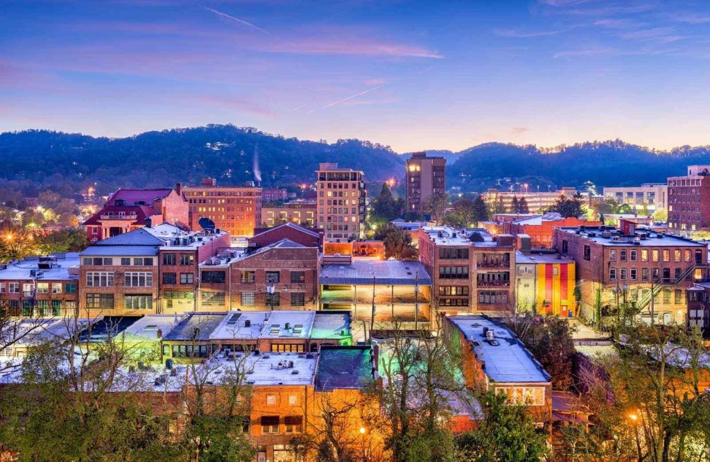Asheville is one of the best getaways on the East Coast.