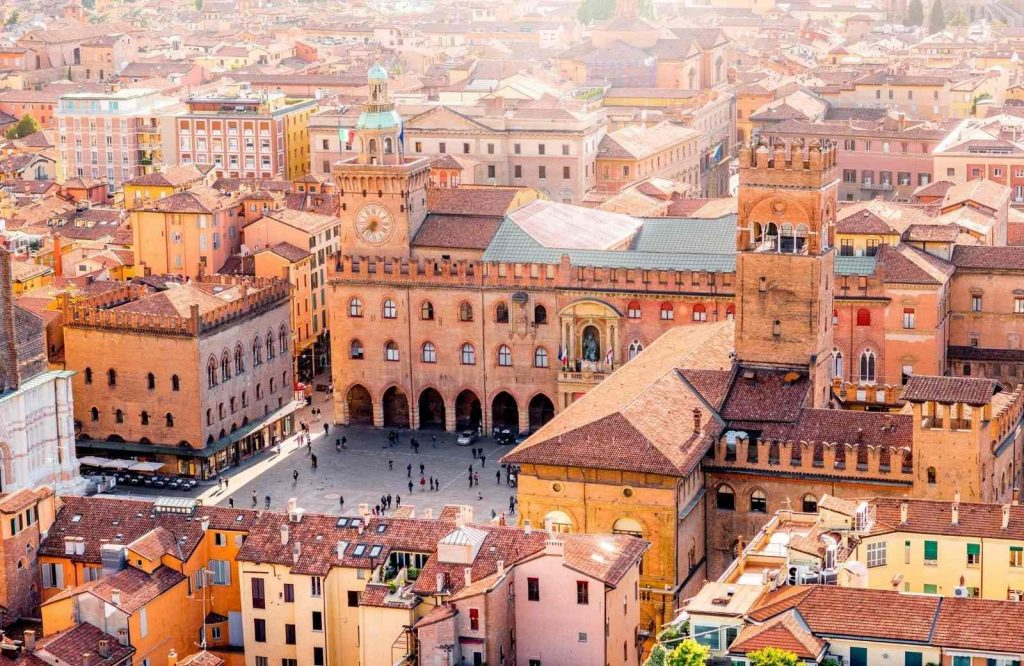 Bologna is deemed one of the prettiest cities in Italy.